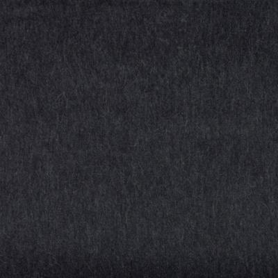 Stoff Baby-Alpaka Wolle dunkelgrau